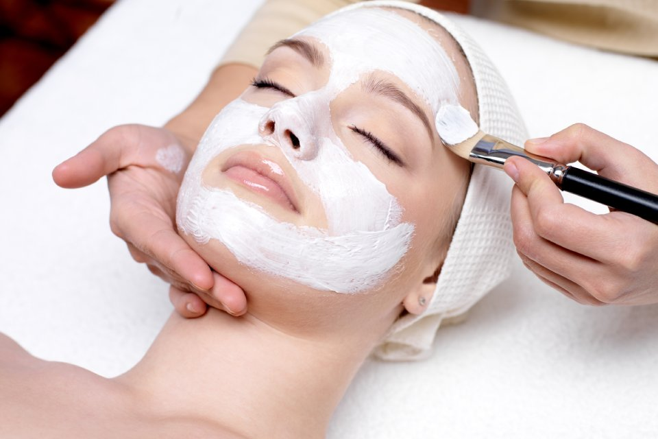 woman getting a forma facial